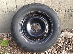 4 winter tires and steel rims for 2013-17 Ford Escape