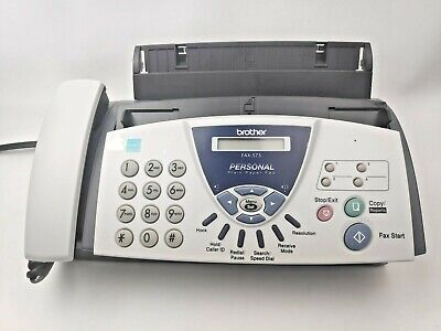 Brother Fax 575 Plain Paper Fax Phone And Copier New Open Box 2004 512kb Memory