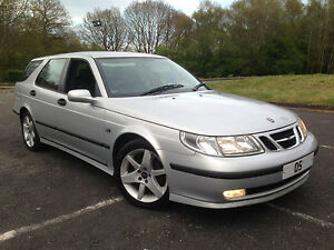 2005 05 Saab 9-5 2.2 TID Estate 'Linear Sport' Model! (Diesel) CLEARANCE PRICE!