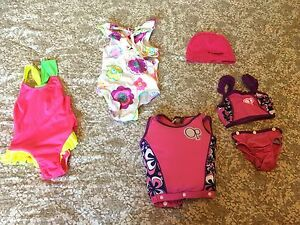 Swimsuits from baby to 5 year old