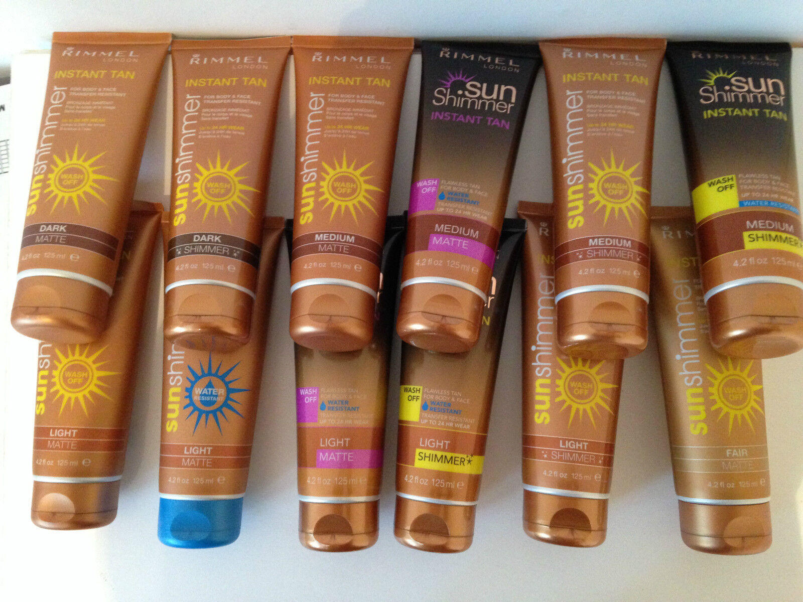 Rimmel Sun Shimmer Instant Tan 125ml Choose From Original or New