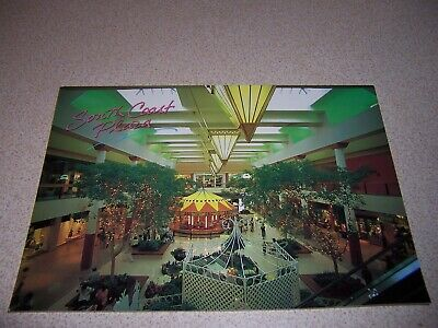 1980s SOUTH COAST PLAZA MALL INTERIOR, ORANGE COUNTY CA. VTG OVERSIZE (Orange County Malls Ca)