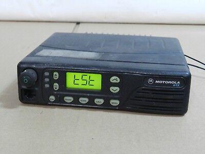 Motorola Gtx 800 Mhz Mobile Radio M11ugd6cb1an