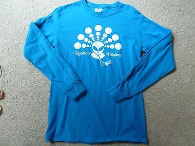 Jz Knight Rse Ramtha Crop Circle Cartouche Blue Shirt Sz  S