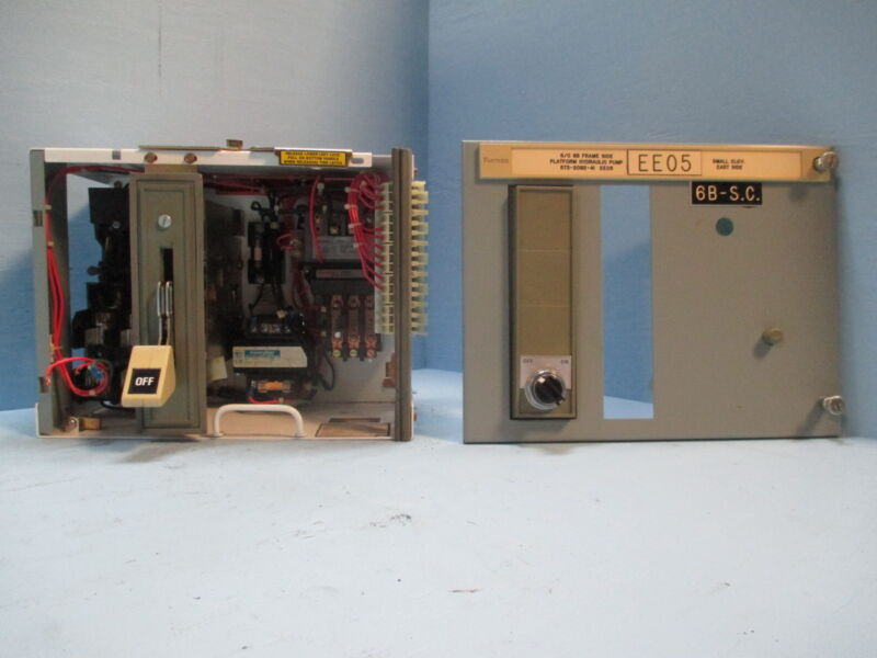 "Siemens Tiastar Furnas System 89 Size 1 Starter 30A Fused 12"" MCC MCCB Bucket"