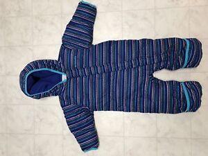 Columbia infant snowsuit