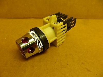Fuji Electric Ah25-l2r10 Momentary Switch Illuminated Red Lamp 30v Max. Nos