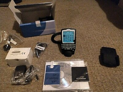 NEW SEALED box BlackBerry 6720 Black Smartphone collectors item 6750 6710 6730