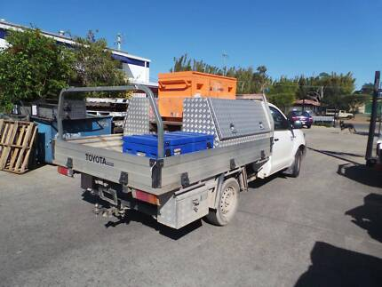 MANY ALLOY & STEEL TRAYS FOR SALE. UTE BACK. Yandina Maroochydore Area Preview
