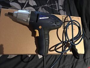 Master craft Electric impact wrench