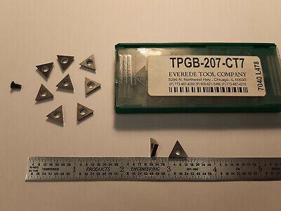Everede Tpgb-207-ct7 Carbide Inserts 10 Pcs