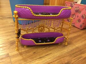 Monster high doll bunk bed