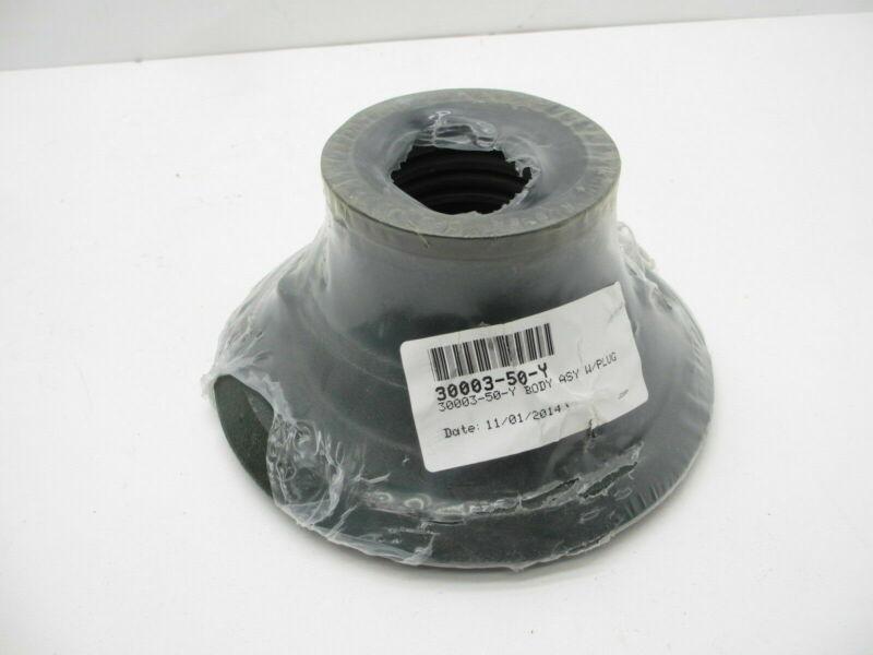 """JOSAM 3"""" Drain Body Assembly with Plug 30003-50-y NOS MSRP $170.00!!"""