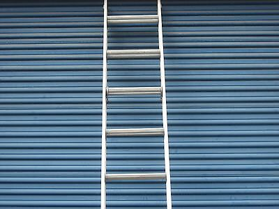 16 Ft. Aluminum Extension Ladder With Serrated Flat Rungs By Werner Ladder