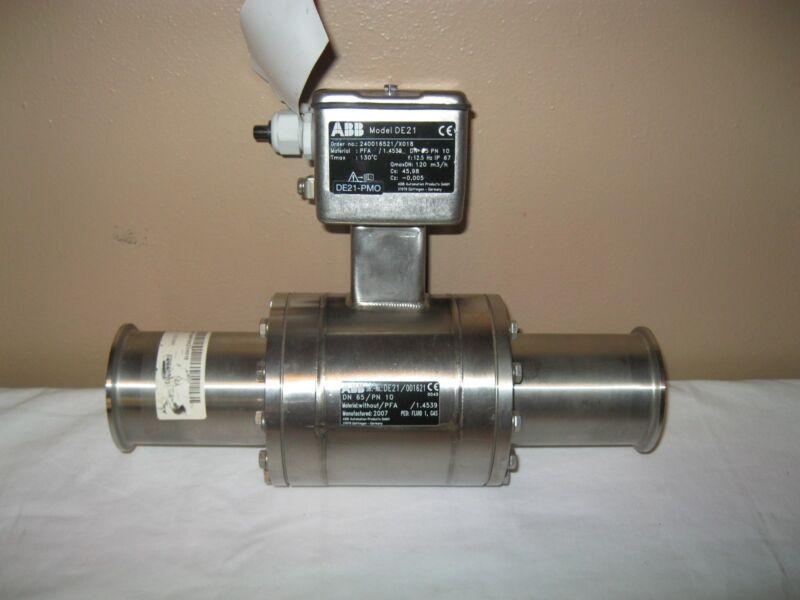 New ABB Electromagnetic Flowmeter FXE4000 DE21 240016521/X018 Stainless