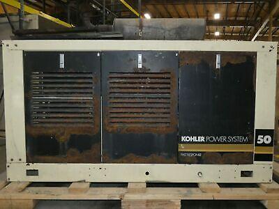 50kw John Deerekohler Diesel Standby Generator - Running Takeout