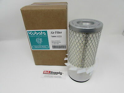 Genuine Oem Kubota Air Filter 70000-11221 Fits B Kh L Series And More
