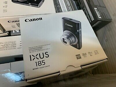 NEW Canon PowerShot IXUS 185 / Elph 185 20MP Compact Digital Camera Red