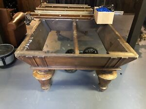 Antique Pool Table Project