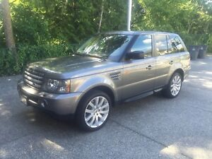 2008 Range Rover Sport Supercharged with Low Km