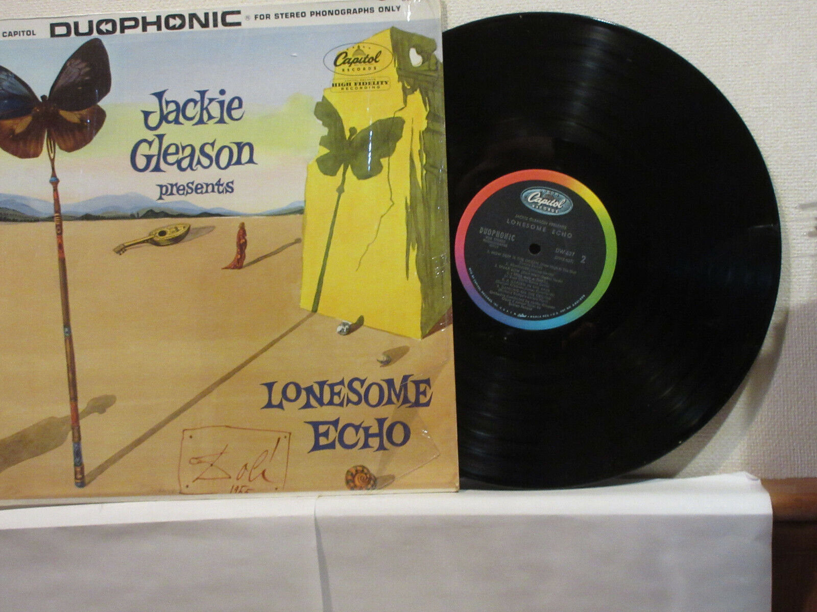 JACKIE GLEASON LP LONESOME ECHO LP VG VG Salvador Dali Cover - $6.99