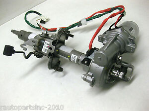 2011 Toyota Prius Steering Column With Electric Motor