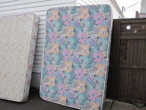 DBL mattress, box spring and frame