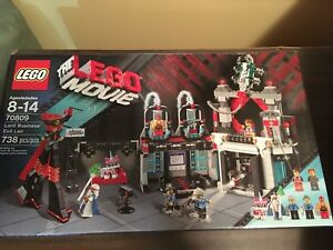 Lego Movie Lord Business's Lair #70809