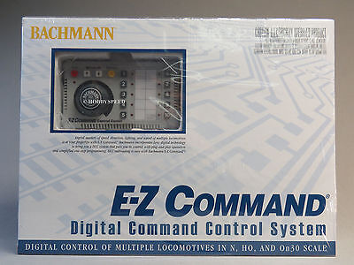 BACHMANN E-Z COMMAND DIGITAL DCC CONTROLLER HO N SCALE transformer BAC 44932 NEW