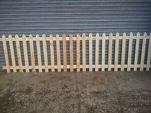 picket fence,Wooden Picket, Fence Panels- 6' x 3',