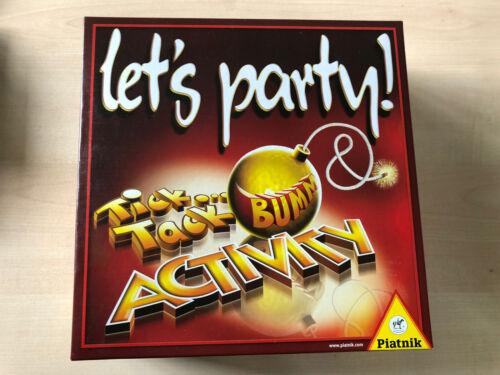 Let's party, Spiel Activity Und Ticktackbumm vereint