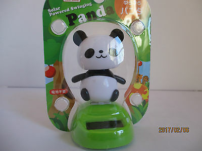 Solar Powered Swinging Panda Daiso Japan New