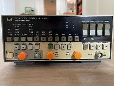 Hp 8112a Pulse Generator 50 Mhz