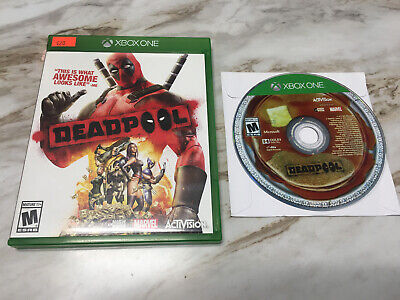 Deadpool Xbox One **Includes Case, Artwork & Disc** NR MINT DISC! FREE SHIPPING!
