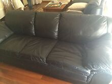 Leather couch Meadow Heights Hume Area Preview