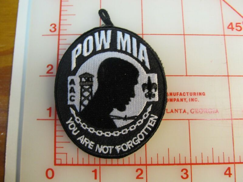 Atlanta Area Council POW MIA collectable patch FREE SHIP (oB)