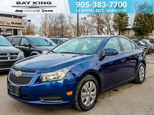 2012 Chevrolet Cruze AUTOMATIC, AC, LOCAL TRADE-IN, KEYLESS ENTR