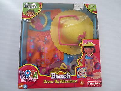 Dora The Explorer Beach Dress Up Adventure Set   Nib
