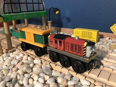 Thomas The Train Wooden Salty W/Egg Car