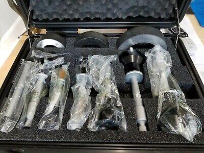 Micrometer Bore Gage Set 1.600 To 4.00 Range Frictionratchet Thimble 0.000