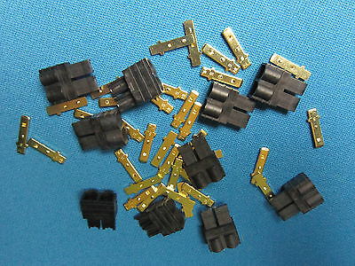 Lipo Trx Plug - 10 MALE TRX TRAXXAS CONNECTOR PLUG LIPO NIMH E-REVO SLASH RALLY SUMMIT RUSTLER