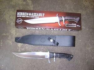 Hibben Assault Combat Knife Hazelbrook Blue Mountains Preview