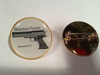 AIR GUN GOLD PLATED BADGES AIR ARMS,WEBLEY 29 DESIGNS` BSA FREE STICKER