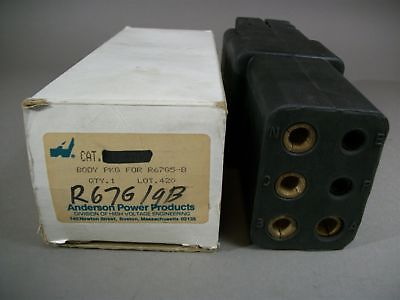 Anderson Power Products R67G5-B Electrical Plug Connector - NEW