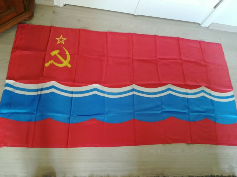 Original Vintage Flag of Estonia Estonian Soviet Socialist Republic USSR