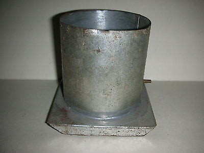 """2 3/4"""" Round Metal Candle Mold (Box A)"""
