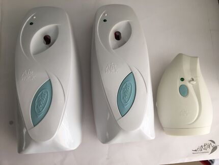 Air wick fresheners and dispensers + Raid insect control