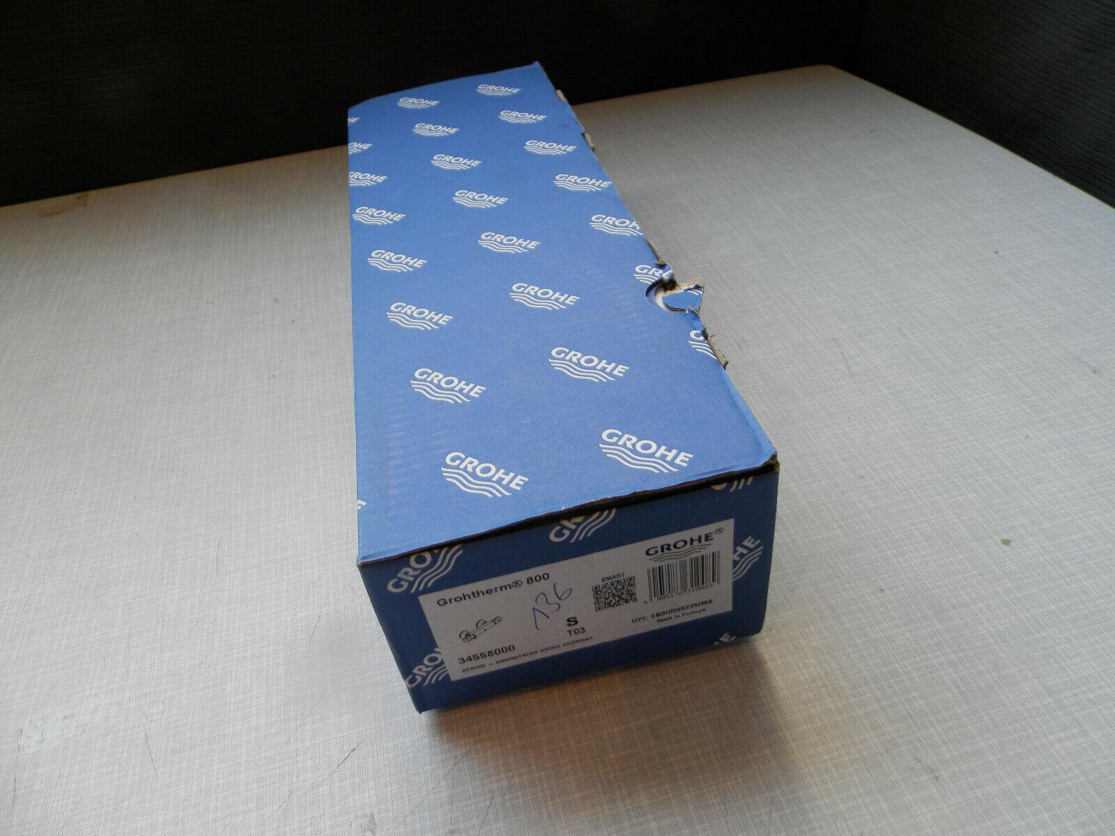 Grohe Duscharmatur Thermostat Mischbatterie Grohtherm 800 # 34558000