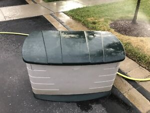 """Rubbermaid storage container. 43"""" long 24"""" high 25"""" deep"""