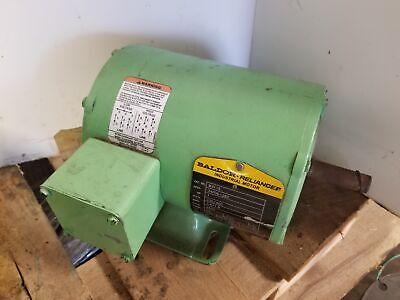 Baldor M3115 1hp 3 Phase Electric Motor